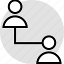 activity, two, users icon