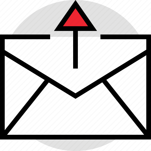 activity, email, send, up icon