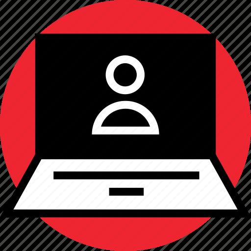 activity, internet, user icon