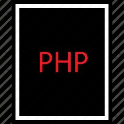 coding, developer, php icon