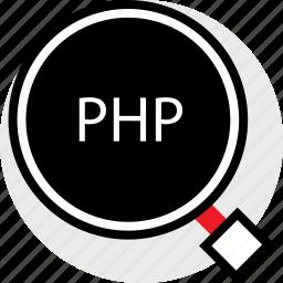 developer, find, php icon