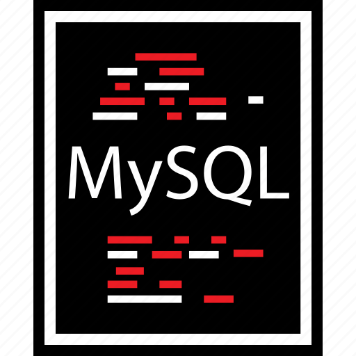 developer, lines, mysql icon