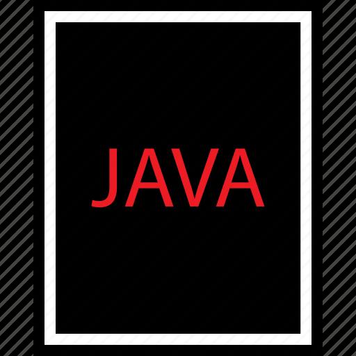 development, file, java, web icon