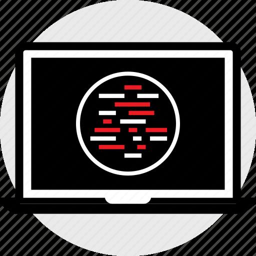 development, lines, web icon