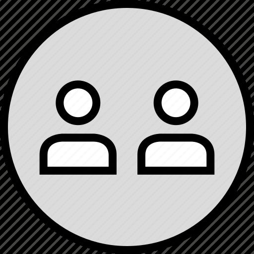 person, seo, two, user icon