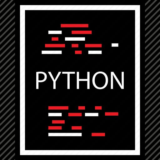 developer, python, web icon