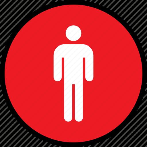 person, single, user icon