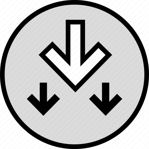 arrows, seo, three icon