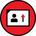 high, sales, user icon
