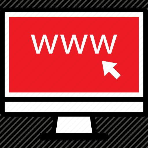 click, web, www icon