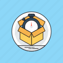 fast shipping, fast track delivery, on time delivery, dynamic service, quick logistics icon