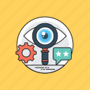 seo analyzer, seo monitoring, seo optimization, web visibility, website performance icon