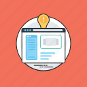 creative web design, dynamic web design, inspiring website, web design, web design inspiration icon