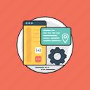 software application, web app, application development, web development, web application icon