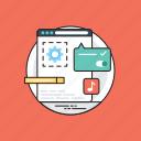 software application, programming application, web page, web app, web application icon