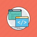 coding, html, javascript, php, programming icon