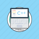css, html, php, programming language, web coding icon