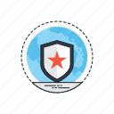 guard, protection, reliability, risk safety, security icon