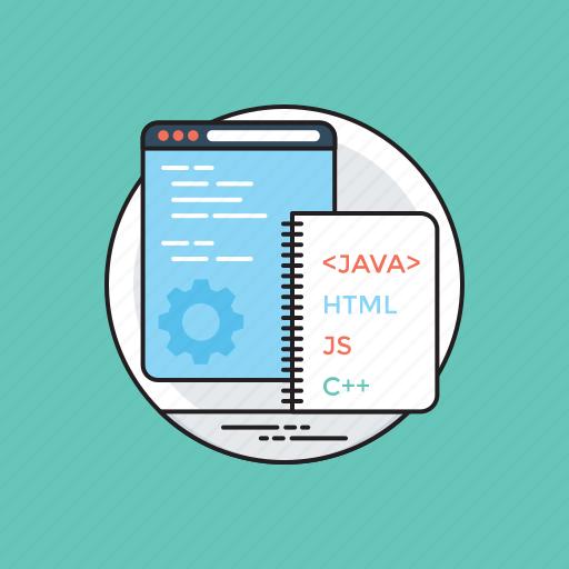 css, html, php, programming language, web coding icon