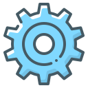 cogwheel, gear, setting