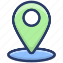 geolocation, gps, map location, navigation, pin location, pinpointer icon