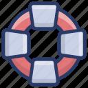 life preserver, lifebelt, lifebuoy, lifesaver, tyre tube icon