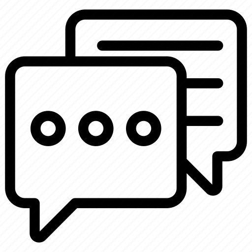 chat bubble, communication, conversation, discussion, speaking, talking icon
