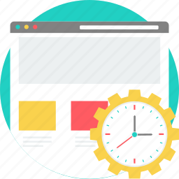 load, loading, page load time, process, run, running, waiting icon