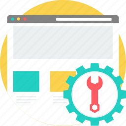 configuration, setting, settings, tool, tools, webpage, website icon