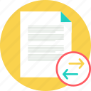 doc, document, file, share, sharing, social, text icon
