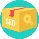 seo, box, business, marketing, optimization, promotion, web