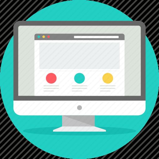 design, desktop, layout, seo, web, webpage, website icon
