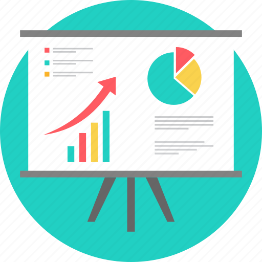 analysis, board, chart, diagram, graph, growth, report icon