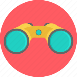 binocular, find, glass, look, search, view, zoom icon