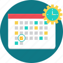 calander, date, day, month, plan, time table, timetable icon
