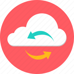 cloud, computing, forecast, internet, network, server, web icon