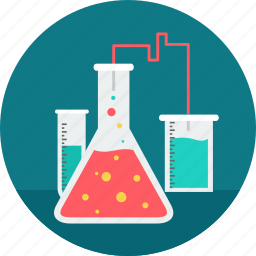 code testing, flask, lab, research, science, testing, tube icon