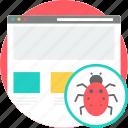 development, code, bug, insect, coding, error, alert