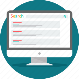 engine, google, optimization, rank, result, results, search icon