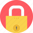lock, private, protect, protection, secure, security, shield icon