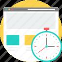 loadtime, webpage, web, layout, speed, clock, watch