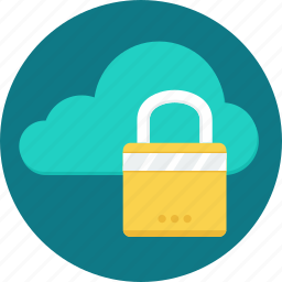 cloud, lock, protection, safety, secure, security, weather icon
