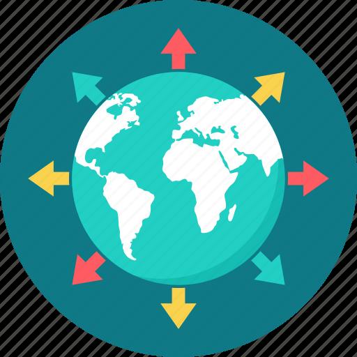 Web, communication, website, connection, globe, internet, global icon - Download on Iconfinder