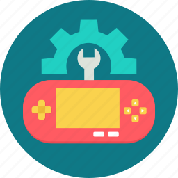 control, controller, development, game, setting, settings, video game icon