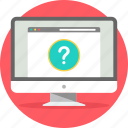 faq, help, queries, query, question, questions, support icon