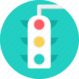 road, signal, stop, traffic, transportation, travel, web traffic icon