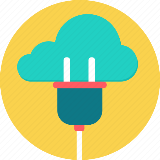 cloud, connection, data, internet, storage, weather, web icon