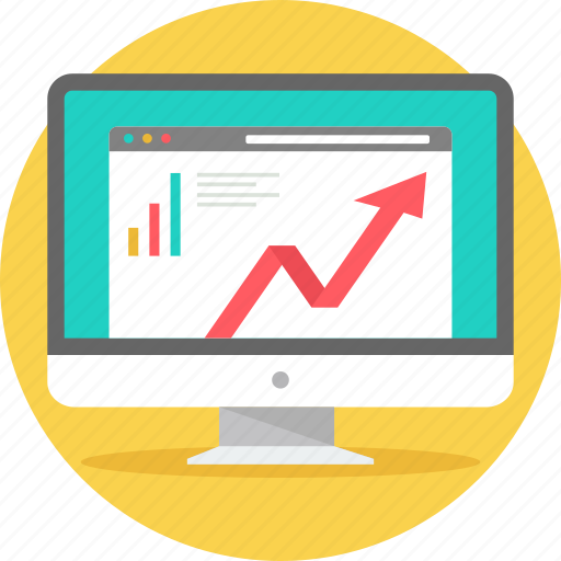 analysis, chart, diagram, graph, growth, presentation, statistics icon