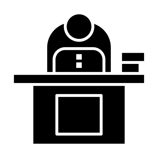 business, computer, desk, laptop, person, personal, user icon