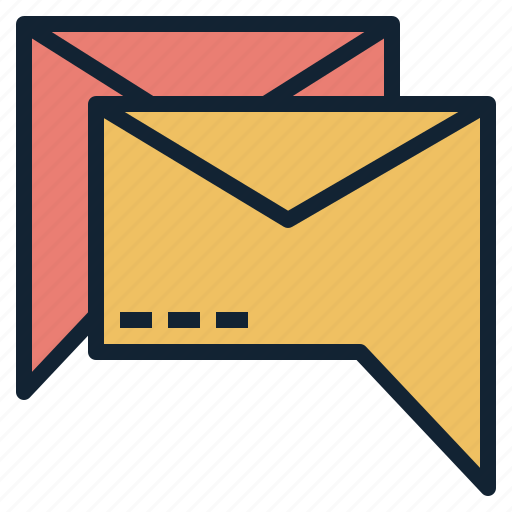 envelop, mail, message, recciever, sender, text icon